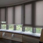 Doppelrollo nach Maß für große Fenster